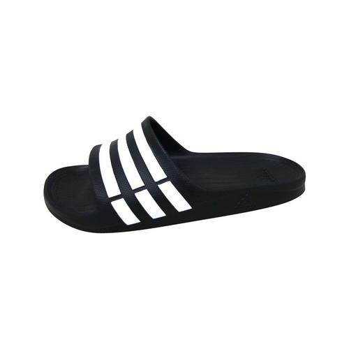 kengät Urheilusandaalit adidas Originals Duramo Slide Noir / Blanc / Noir