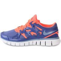 kengät Naiset Tennarit Nike Free Run 2 Ext Blue Legend Bleu/Orange