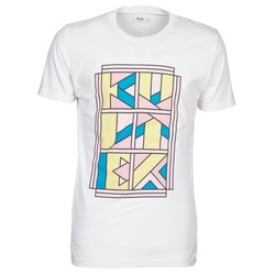 vaatteet Miehet Lyhythihainen t-paita Kulte ANATOLE BLOCK White