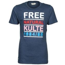 vaatteet Miehet Lyhythihainen t-paita Kulte AUGUSTE FREE Blue