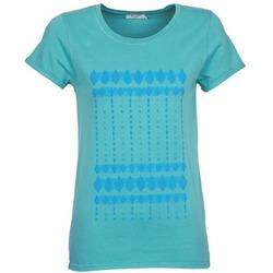vaatteet Naiset Lyhythihainen t-paita Kulte JULIETTE BATIK Blue