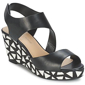 kengät Naiset Sandaalit ja avokkaat Moony Mood EPALINE Black