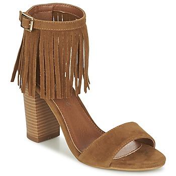 kengät Naiset Sandaalit ja avokkaat Moony Mood ERANDA Camel