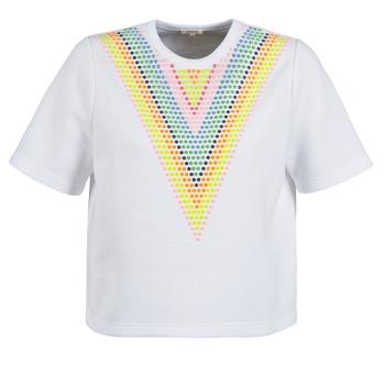 vaatteet Naiset Svetari Manoush DOUDOU STAR White