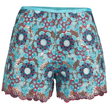 vaatteet Naiset Shortsit / Bermuda-shortsit Manoush FRESQUE Blue