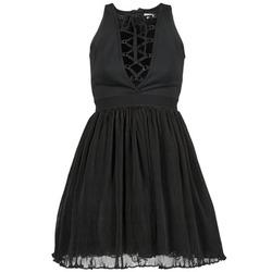 vaatteet Naiset Lyhyt mekko Manoush MARILACET Black