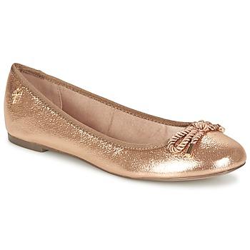 kengät Naiset Balleriinat Menbur ZINNA Pink / KULTA