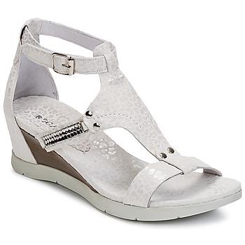 kengät Naiset Sandaalit ja avokkaat Regard RATANO White