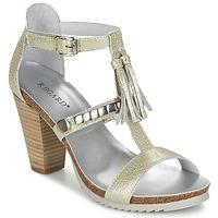 kengät Naiset Sandaalit ja avokkaat Regard ROKOLO Platinum