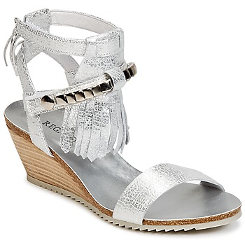 kengät Naiset Sandaalit ja avokkaat Regard RUKO Argenté