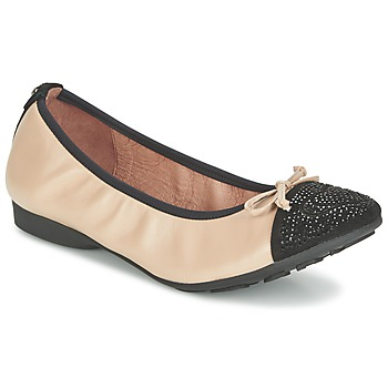 kengät Naiset Balleriinat Mam'Zelle NUPO BEIGE / Black