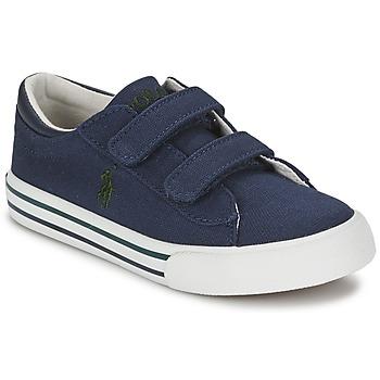 kengät Lapset Matalavartiset tennarit Polo Ralph Lauren HARRISON EZ Blue