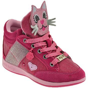 kengät Lapset Korkeavartiset tennarit Lelli Kelly Gattino Rosa