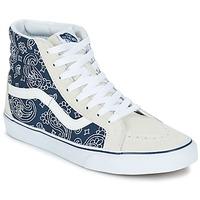 kengät Korkeavartiset tennarit Vans SK8-HI REISSUE Blue / White