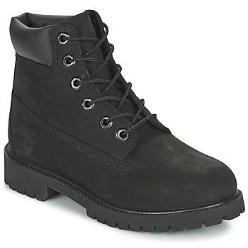 kengät Lapset Bootsit Timberland 6 IN PREMIUM WP BOOT Black