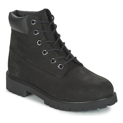 kengät Pojat Bootsit Timberland 6 IN PREMIUM WP BOOT Black