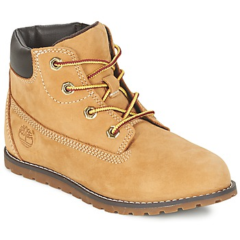 kengät Lapset Bootsit Timberland POKEY PINE 6IN BOOT WITH RED MULTI WF SDE