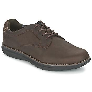 kengät Miehet Derby-kengät Timberland BARRETT PT OXFORD Brown / Fonce