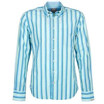 vaatteet Miehet Pitkähihainen paitapusero Gaastra SUMMERJAM Blue / White