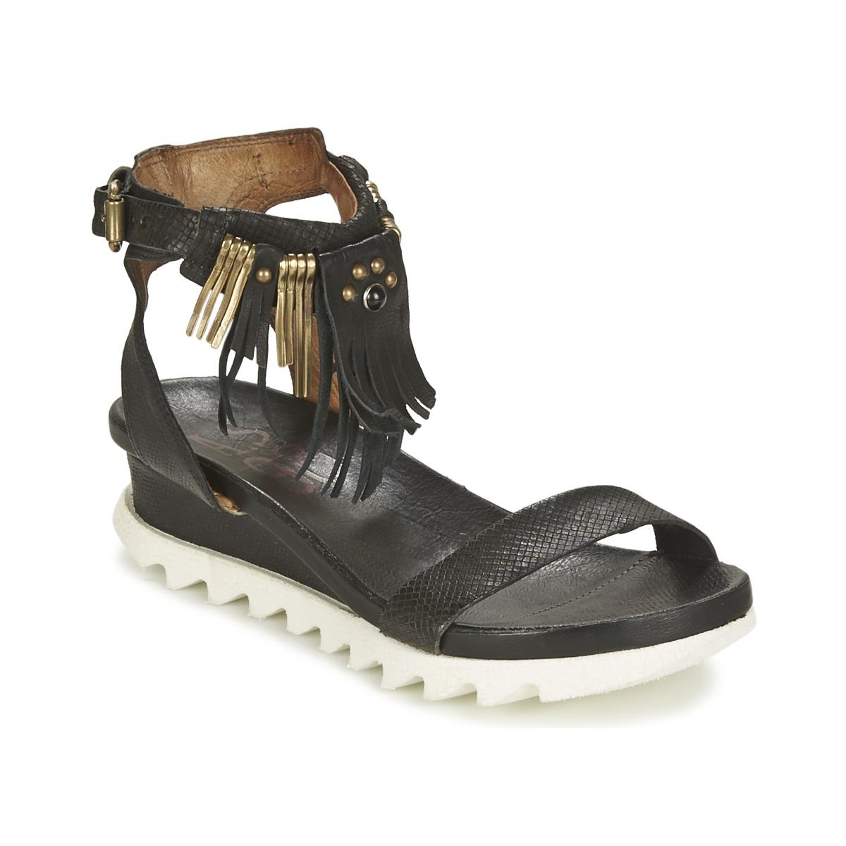 Sandaalit Airstep / A.S.98 FLOOD Black