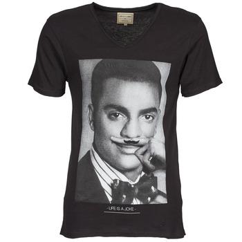 vaatteet Miehet Lyhythihainen t-paita Eleven Paris MARLTON M Black