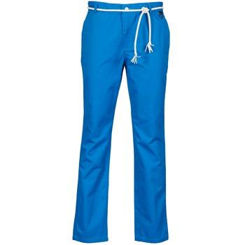 vaatteet Miehet Chino-housut / Porkkanahousut Eleven Paris CHARLIE Blue