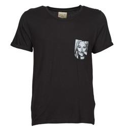 vaatteet Miehet Lyhythihainen t-paita Eleven Paris KMPOCK Black