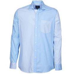 vaatteet Miehet Pitkähihainen paitapusero Hackett GORDON Blue