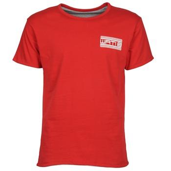 vaatteet Miehet Lyhythihainen t-paita Wati B WATI CREW Punainen