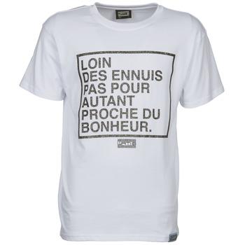 vaatteet Miehet Lyhythihainen t-paita Wati B LOIN White