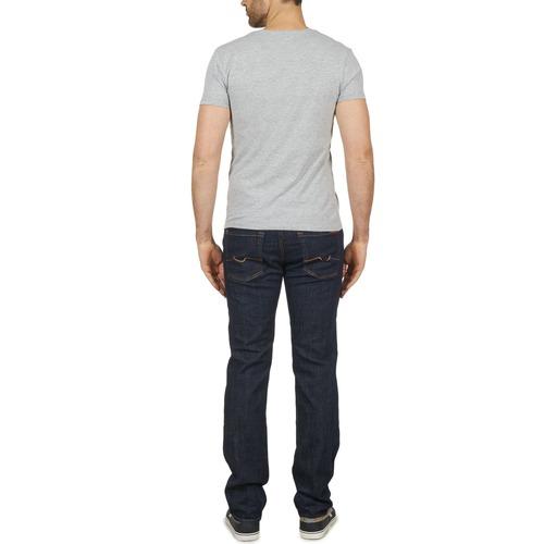 7 For All Mankind Slimmy Oasis Tree Blue - Ilmainen Toimitus- Vaatteet Slim-farkut Miehet 145