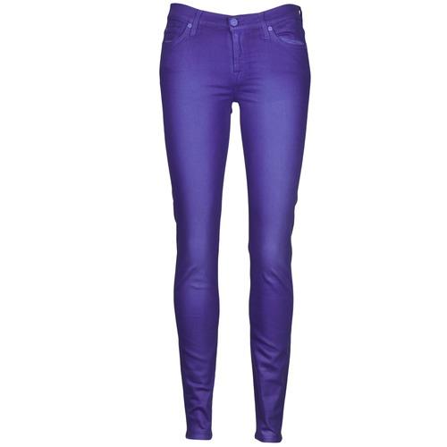 vaatteet Naiset Slim-farkut 7 for all Mankind THE SKINNY VINE LEAF Blue