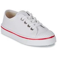 kengät Lapset Matalavartiset tennarit Citrouille et Compagnie PANA BEK White
