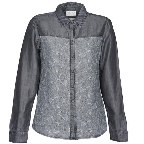 vaatteet Naiset Paitapusero / Kauluspaita Esprit Denim Blouse Grey