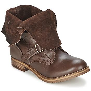 kengät Naiset Bootsit Casual Attitude DISNELLE Ruskea