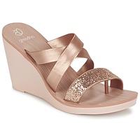 kengät Naiset Sandaalit ja avokkaat Grendha PARADISO II PLAT Pink / Metallinen