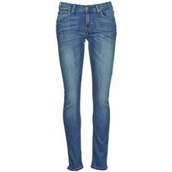 vaatteet Naiset Slim-farkut Lee JADE Blue