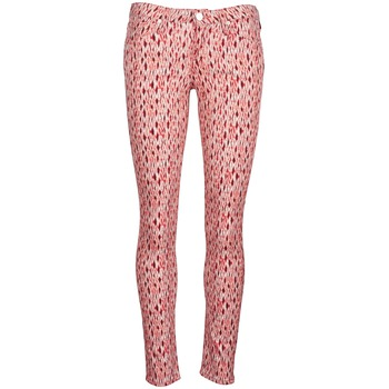 vaatteet Naiset Slim-farkut Lee SCARLETT Punainen / Oranssi