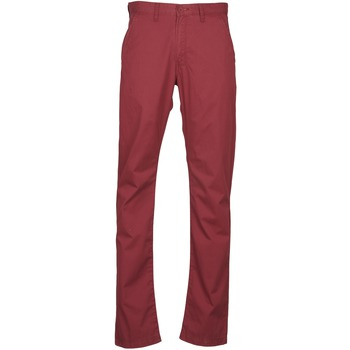 vaatteet Miehet Chino-housut / Porkkanahousut Lee CHINO OXBLOOD Red