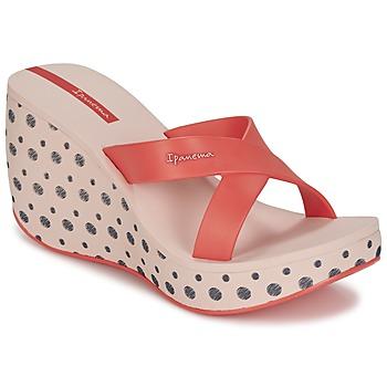 kengät Naiset Sandaalit Ipanema LIPSTICK STRAPS II Red / Pink