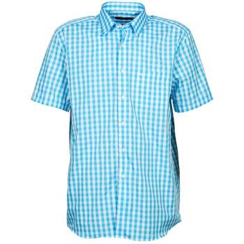 vaatteet Miehet Lyhythihainen paitapusero Pierre Cardin 539236202-140 Blue