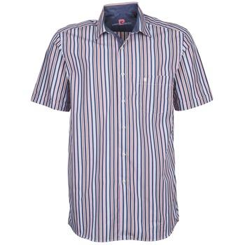 vaatteet Miehet Lyhythihainen paitapusero Pierre Cardin 514636216-184 Blue / Pink