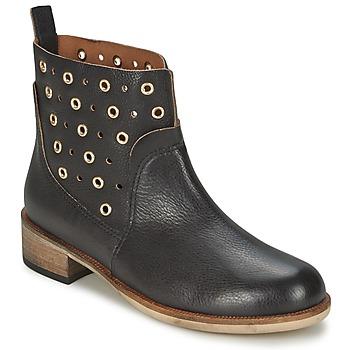 kengät Naiset Bootsit BOSS 50266292 Musta