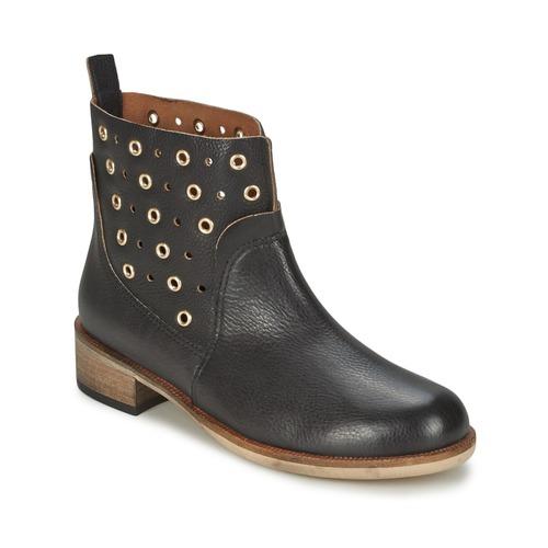 kengät Naiset Bootsit BOSS 50266292 Black