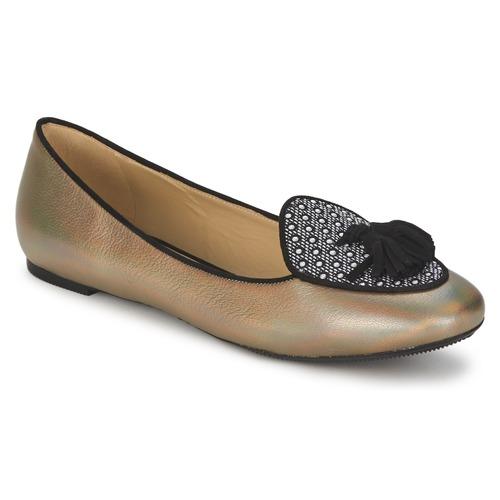 kengät Naiset Balleriinat Etro 3922 Kulta
