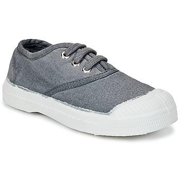 kengät Lapset Matalavartiset tennarit Bensimon TENNIS LACET Grey