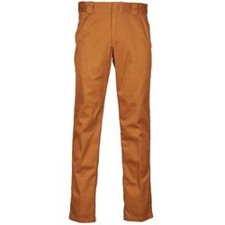 vaatteet Miehet Chino-housut / Porkkanahousut Dickies GD PANT Brown