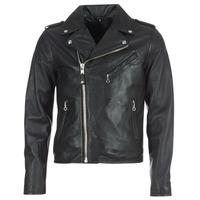 vaatteet Miehet Nahkatakit / Tekonahkatakit Schott LEVOQ Black