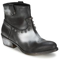 kengät Naiset Bootsit Strategia SFUGGO Black / Argenté