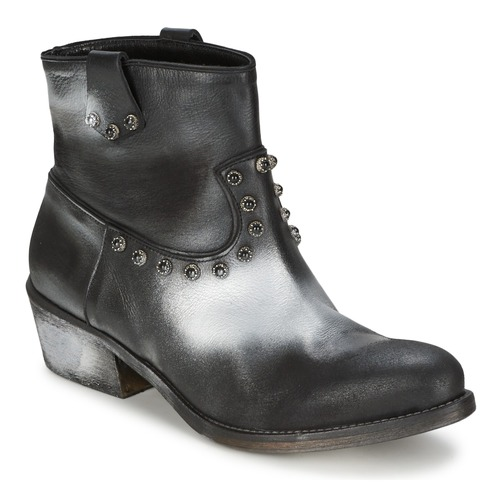 kengät Naiset Bootsit Strategia SFUGGO Black / Hopea